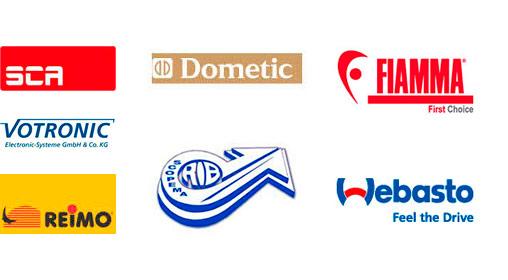 Logos proveedores de Camper para Autos Elizasu SL