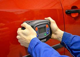 Espectofotómetro en carrocería de Autos Elizasu