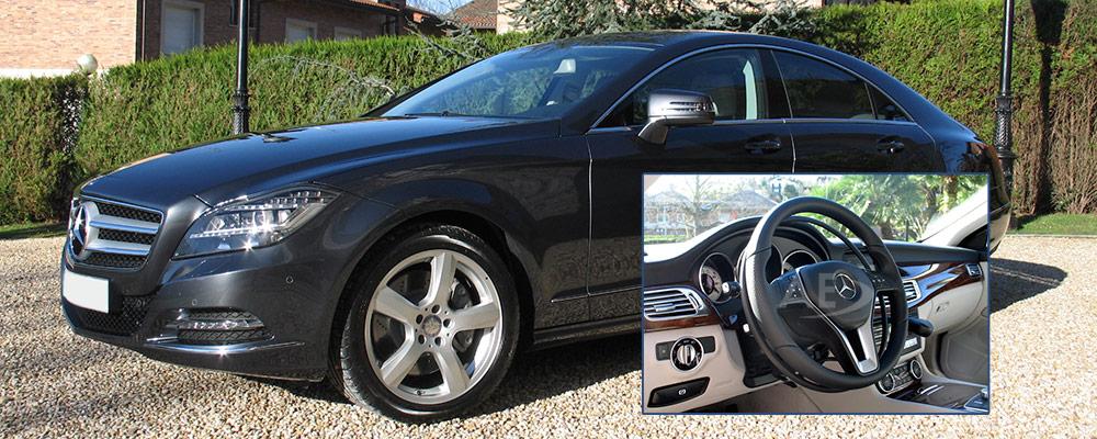 Acelerador de aro bajo volante para Mercedes CLS de Autos Elizasu