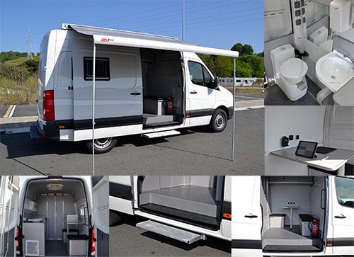 vehículo laboratorio antidoping de Autos Elizasu