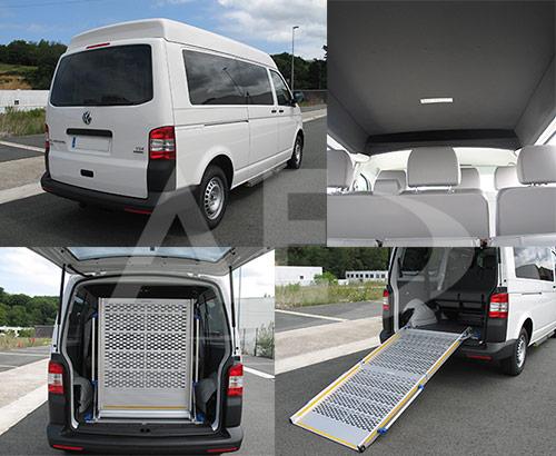 Volkswagen Transporter Kombi techo medio para taxi de Autos Elizasu