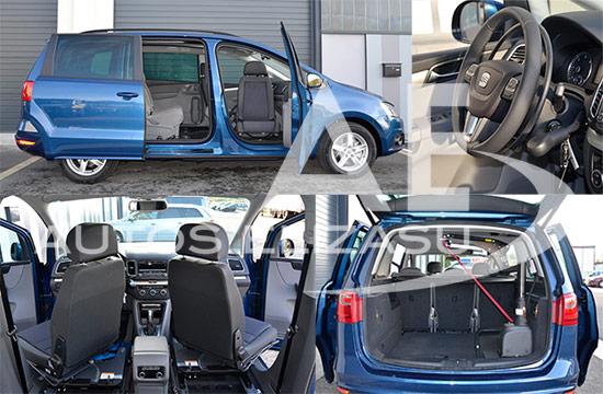 Seat Alhambra accesible para PMR de Autos Elizasu