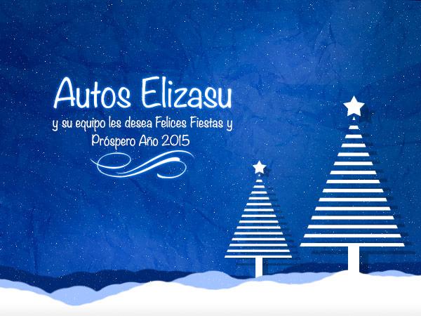 Felicitación navidad Autos Elizasu 2014/2015
