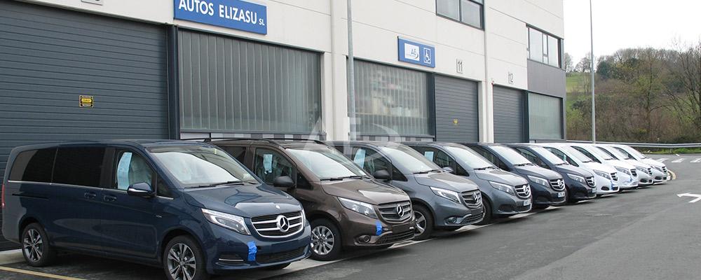 Mercedes Benz Clase V y Vito adaptadas por Autos Elizasu